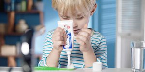 Toothpaste for children – the most important ingredients at a glance